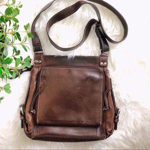 Fossil Genuine Leather Crossbody Bag